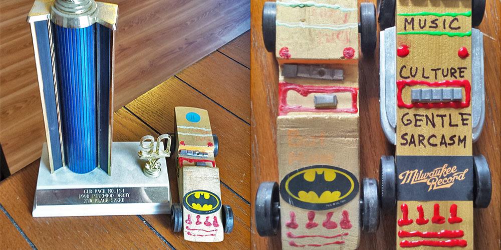 Batman Cars Dorky Dads And Finishing Last Exorcising Our