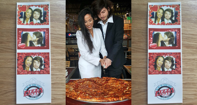 I got married at Pizza Shuttle