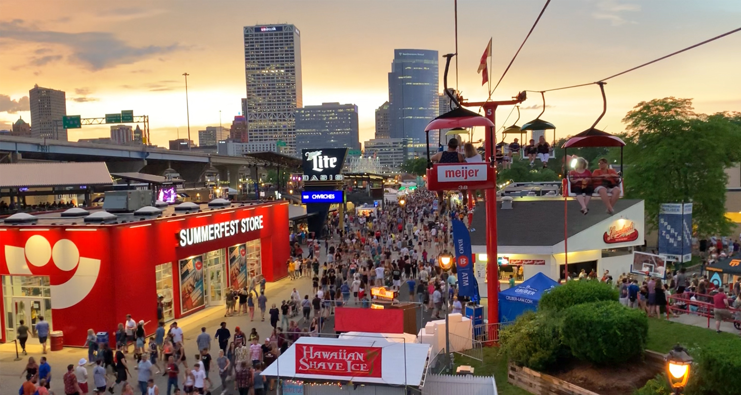 Summerfest is back, and here's the 2021 Summerfest lineup